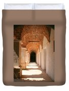 Arches And Shadows Duvet Cover