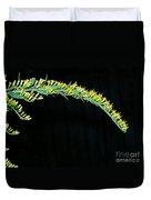 Arching Goldenrod Duvet Cover