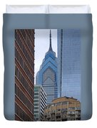 Architectural Miscellany Duvet Cover