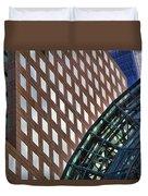 Architecture Building Patterns Duvet Cover