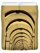 Archways In Florence Duvet Cover