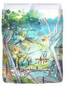 Arcos De Valvedez In Portugal 02 Duvet Cover