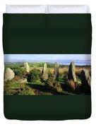 Ardgroom, Co Cork, Ireland Stone Circle Duvet Cover
