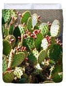 Arizona Prickly Pear Cactus Duvet Cover