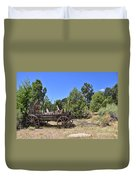 Arizona Wagon Duvet Cover