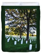 Arlington Cemetery Graves Duvet Cover