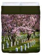 Arlington Cherry Trees Duvet Cover