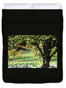 Arlington National Cemetery In The Fall  Duvet Cover