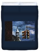 Armory And The Lights Duvet Cover