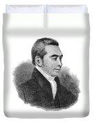 Arnold Buffum (1782-1859) Duvet Cover