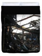 Arson Is Never Very Pretty Duvet Cover