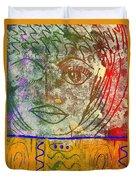 Art   Always Remember Truth Duvet Cover
