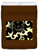 Art Deco Branchlets Duvet Cover