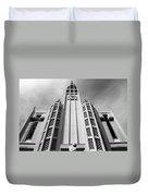 Art Deco Church Duvet Cover
