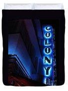 Colony Hotel Art Deco District Miami 2 Duvet Cover