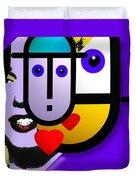 Art Lover Duvet Cover