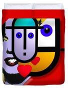 Art Lover Revisited Duvet Cover