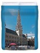Art Reflecting Art In Brussels Duvet Cover
