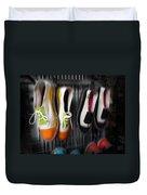 Art Shoes Duvet Cover