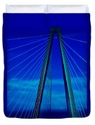 Arthur Ravenel Jr Bridge IIi Duvet Cover
