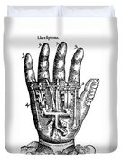 Artificial Hand Designed By Ambroise Duvet Cover