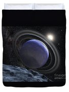 Artists Illustration Of An Extrasolar Duvet Cover