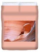 Artwork In Progress - Antelope Canyon Az Duvet Cover by Christine Till
