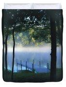As The Lake Awakens Duvet Cover