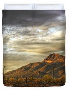 As The Sun Sets  Duvet Cover