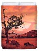Ashland Sunset Duvet Cover