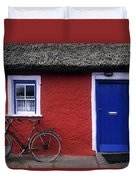 Askeaton, Co Limerick, Ireland, Bicycle Duvet Cover