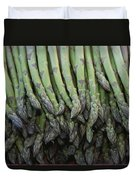 Asparagus At A Market In Provence Duvet Cover