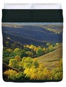 Aspen Bluffs In Autumn Colors Duvet Cover