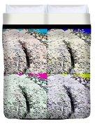 Ass Crack Rock In Quad Colors Duvet Cover