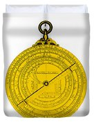 Astrolabe Duvet Cover by Omikron
