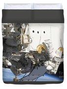 Astronauts Participate Duvet Cover