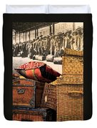 At Ellis Island Duvet Cover