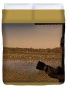 At Mistake Billabong Kakadu National Park Duvet Cover