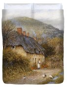 At Symondsbury Near Bridport Dorset Duvet Cover