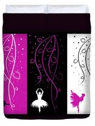 At The Ballet Triptych 2 Duvet Cover