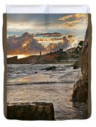 At The Edge Of The World Duvet Cover