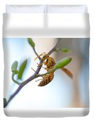 At Work. Busy Bee Duvet Cover