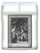 Atalanta And Meleager Duvet Cover