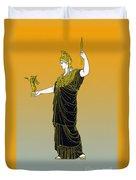 Athena, Greek Goddess Duvet Cover