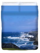 Atlantic Ocean, Achill Island, Looking Duvet Cover