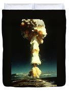 Atomic Testing Duvet Cover