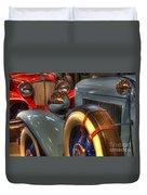 Auburn Vs Cord  Duvet Cover