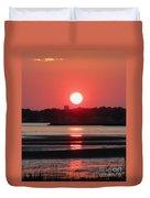 Aura Of A Sunset Duvet Cover