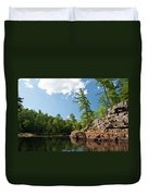Ausable Chasm 1618 Duvet Cover