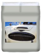 Austin Healey Duvet Cover by Bill Cannon